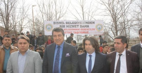 Bismil Belediyesinden öğrencilere ücretsiz taşımacılık