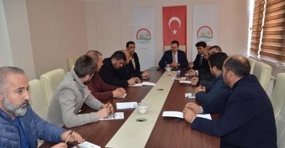 Bitlis'te değerlendirme toplantısı