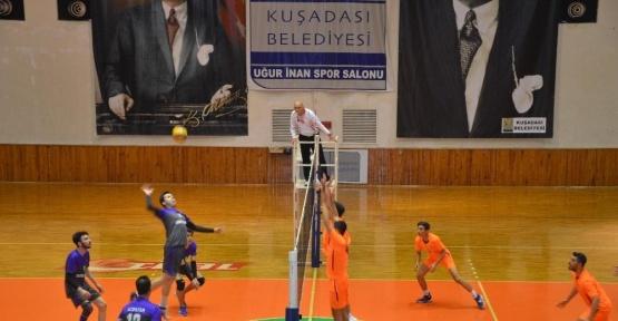 Bölgesel Voleybol Ligi play-off maçları başladı