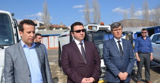 Bozüyük Belediyesi araç filosuna yenilerini ekledi