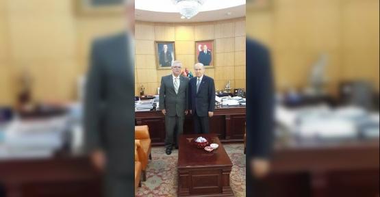 Bozüyük MHP'de yeni yönetim göreve başladı