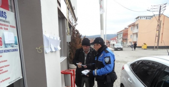 Bozüyük'te mahalle sakinleri soba zehirlenmelerine karşı uyarıldı