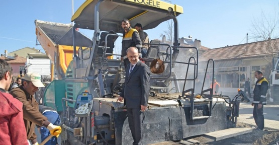 Bünyan'da sıcak asfalt çalışmaları başladı