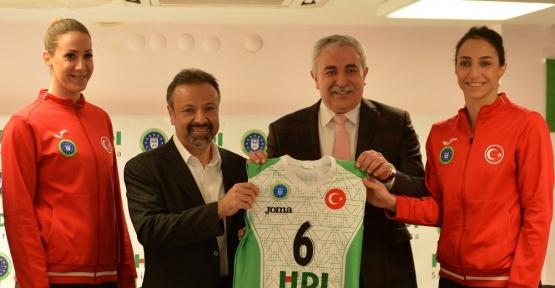 Bursa BŞB'li sultanlara yeni sponsor