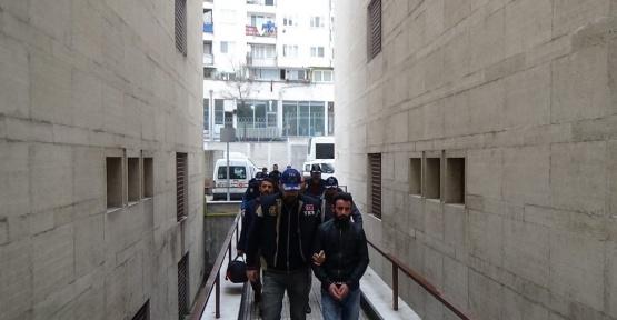 Bursa'da PKK operasyonu...