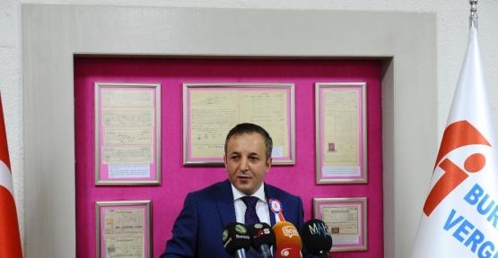 Bursa'da vergi rekortmenleri belli oldu