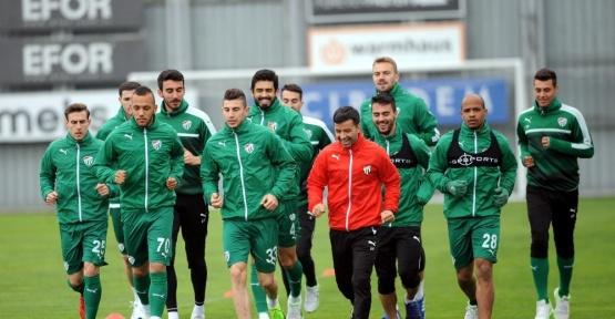 Bursaspor'da Alanyaspor mesaisi başladı
