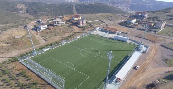 Büyükşehir, Çerkeşli'de Yurt Futbol Sahasını hizmete açıyor
