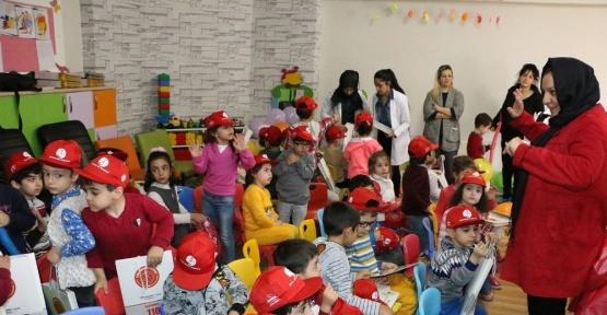 Büyükşehirden ana okulu öğrencilerine çevre bilinci eğitimi