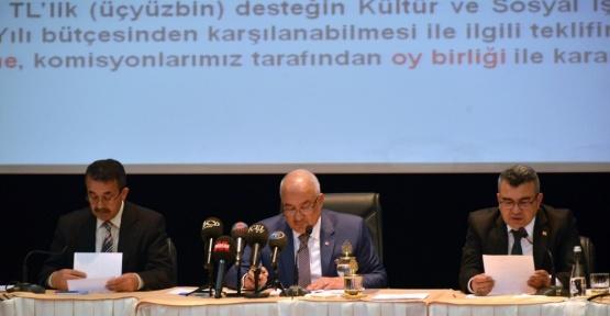 Büyükşehir'den Müzik Festivaline 300 bin, Romanlara 50 bin lira destek