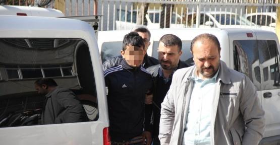 Cami ve okulun musluklarını çalan zanlı tutuklandı