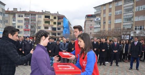 Çanakkale emanetleri Ankara Polatlı'da