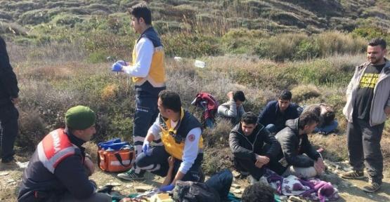 Çanakkale'de 146 kaçak göçmen yakalandı