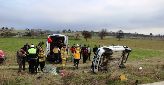 Çanakkale'de trafik kazası: 1 ölü, 1 yaralı