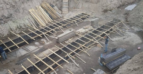 Çat Kasabasında köprü genişletme çalışması başladı