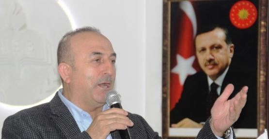 """Çavuşoğlu, """"Bugünkü, şuan ki sistem Türkiye için en riskli sistem"""""""