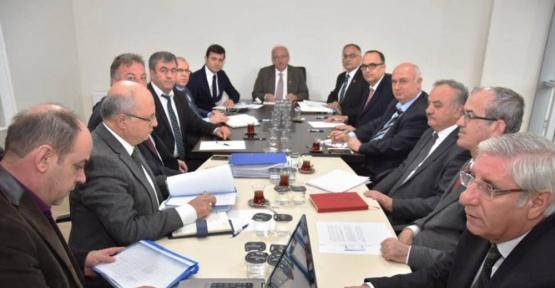 Çerkezköy'de 2017 yılı yatırımları değerlendirildi