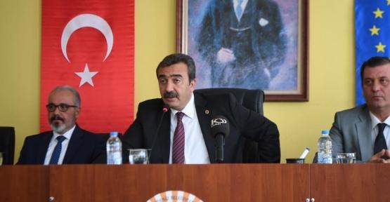 """Çetin: """"Projelerimiz hız kesmeden devam edecek"""""""