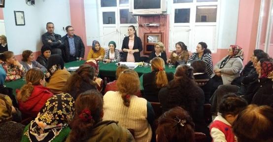 CHP Milletvekili Hürriyet, referandum için 'hayır' turunda