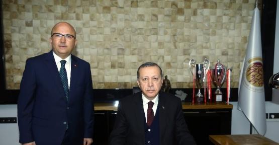 Cumhurbaşkanı Erdoğan Afyonkarahisar'da
