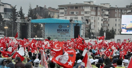 Cumhurbaşkanı Erdoğan Kocaeli'de
