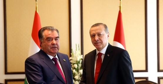 Cumhurbaşkanı Erdoğan, Rahman ile görüştü