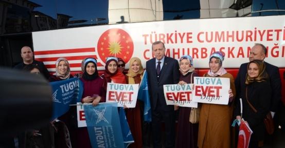 Cumhurbaşkanı Erdoğan, üniversite öğrencileriyle sohbet etti
