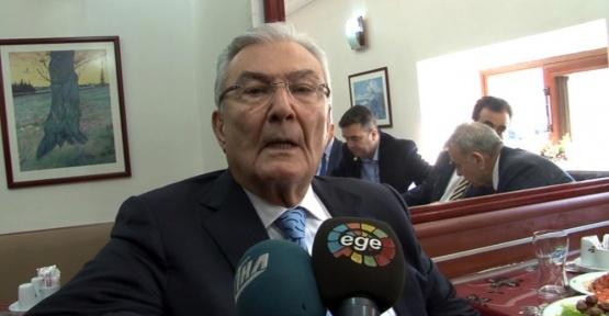 Deniz Baykal'dan İçişleri Bakanı Soylu'ya jet yanıt