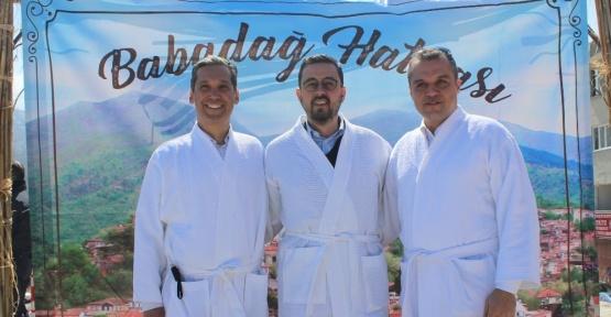 Denizli Babadağ'da bornozlu, havlulu festival