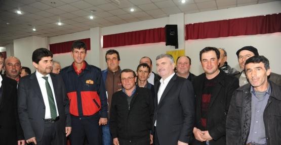 Derbent, Büyükşehir Belediye Başkanı Tahir Akyürek'i ağırladı