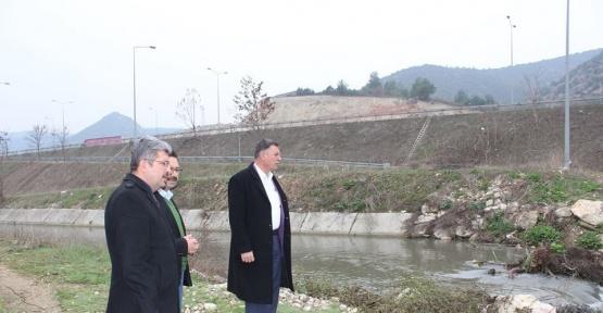 DSİ Bilecik Şube Müdürü Aslanbaş'tan Vezirhan çıkarması