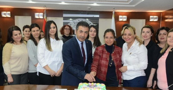 DTO Başkanı Erdoğan, kadın çalışanlarla buluştu
