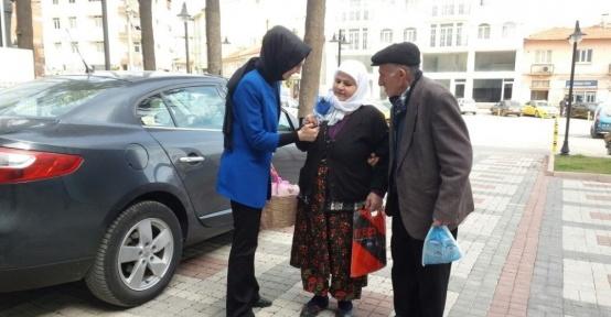 Dursunbey Belediyesi kadınları unutmadı