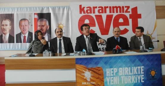 """Ekonomi Bakanı Zeybekci: """"Türkiye'nin dost devletlerle kavgalı olmasını kimse beklemesin"""""""