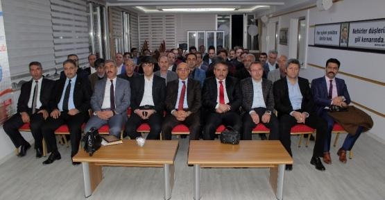 Elazığ'da eğitim çalışanlarının sorunları dinlendi