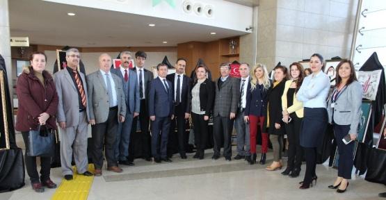 Elazığ'da 'El Emeği Göz Nuru' sergisi açıldı
