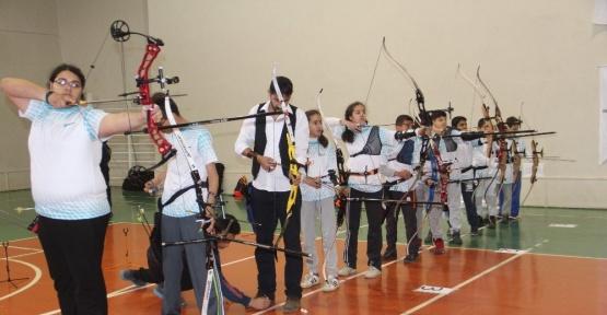Elazığ'da Okçuluk turnuvası