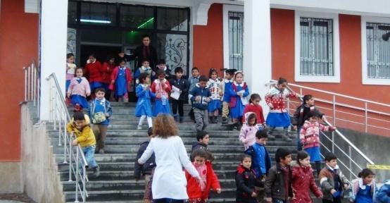 Erciş'te deprem ve yangın tatbikatı
