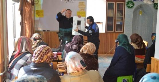 Erzincan Emniyetinden Kur'an kursu kursiyerlerine dolandırıcılık uyarısı