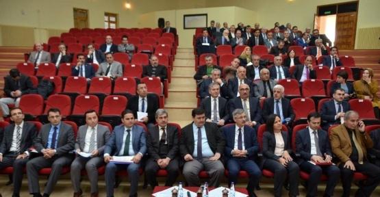 Erzincan'ın genel ekonomik durum değerlendirme toplantısı yapıldı
