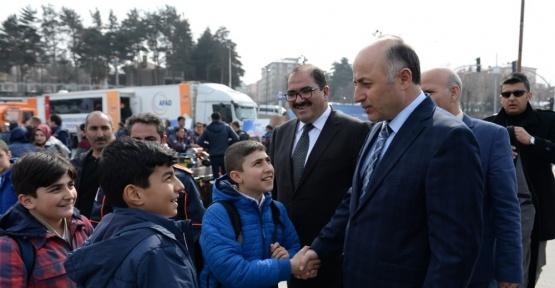 Erzurum'da AFAD sergisi açıldı