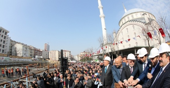 Esenyurt Sultan Alpaslan İlk ve Ortaokulu'nun temeli atıldı