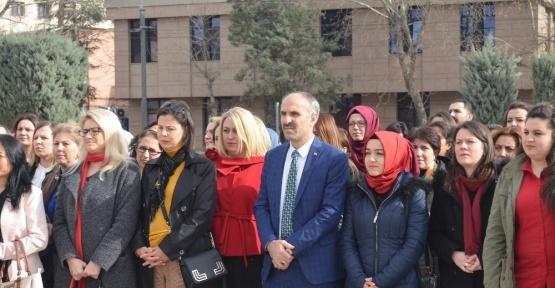 Eskişehir'de 8 Mart Dünya Kadınlar Günü kutlandı