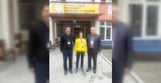 Fadime Dal Türkiye Şampiyonasında