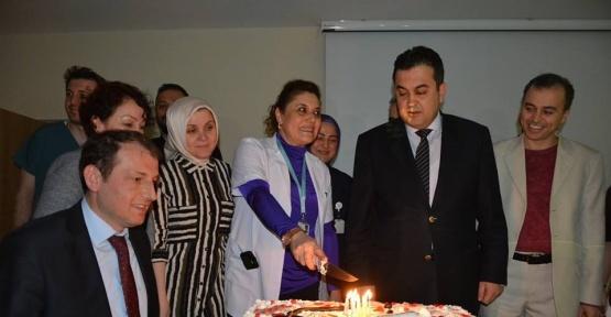 Fatsa Devlet Hastanesinde çifte kutlama