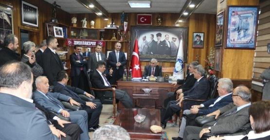 Feyzioğlu ve Batum GMİS'e ziyaret