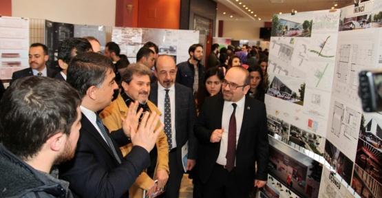 GAÜN'de mimari yarışma projeleri sergilendi