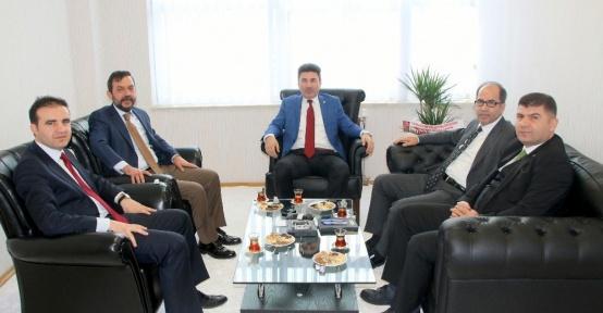 GAÜN'den, Rektör Karacoşkun'a ziyaret
