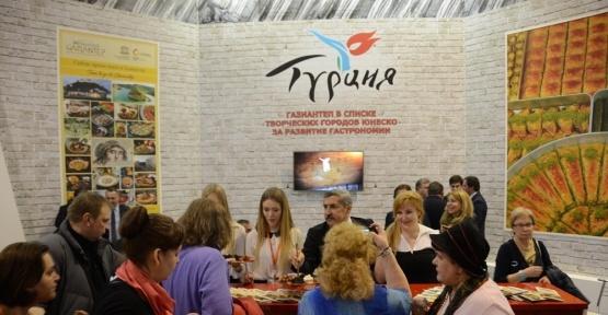 Gaziantep mutfağı Rusya'da ilgi odağı oldu