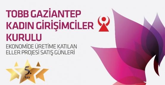 Gaziantep'in en güçlü kadınları Sanko Parkta